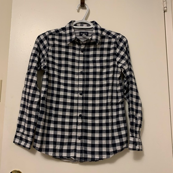 CHILDREN'S PLACE Plaid Polo Shirt